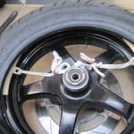 タイヤ交換 取り付け作業