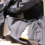 バイクの防寒着オーバーパンツ|ラフ&ロード イージーラップ オーバーパンツ