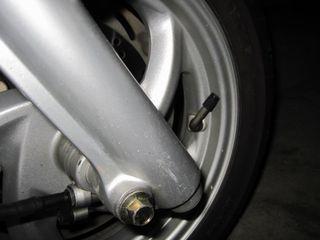タイヤのホイール