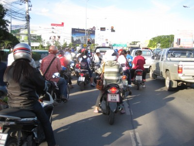 タイの渋滞1