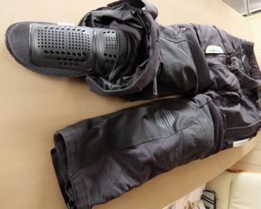 パンツ内部-プロテクター膝