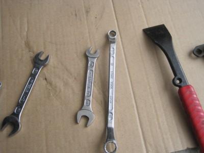 ブレーキ交換に使った工具