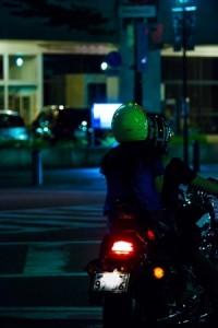 バイク2人乗り