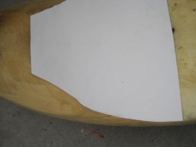 ウレタンシート 型紙