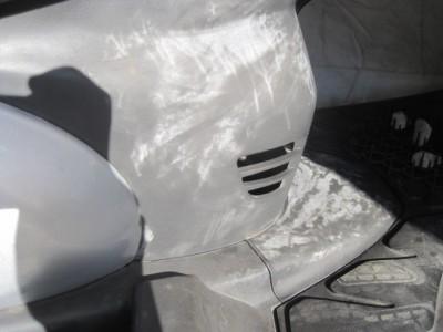 白化した樹脂