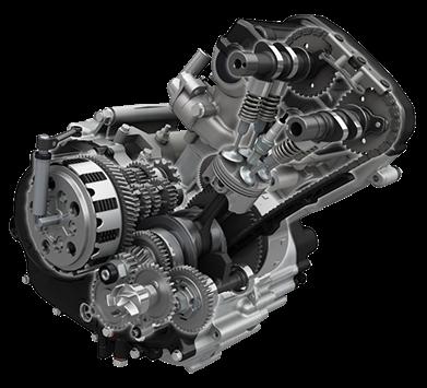 GSX-S125 エンジン