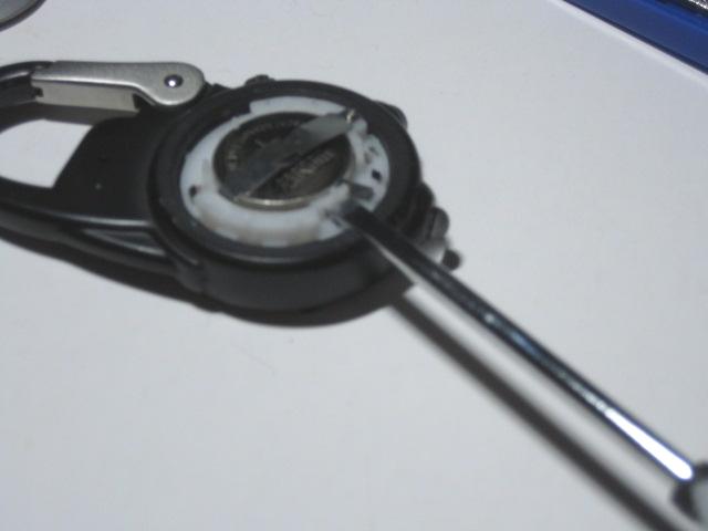 ダコタ時計の電池交換3