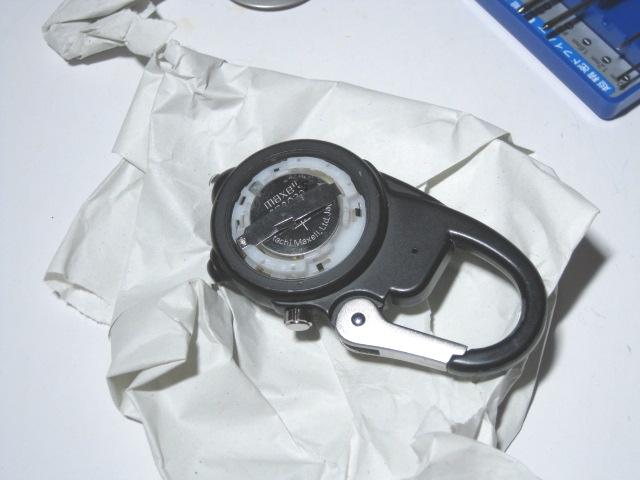 ダコタ時計の電池交換8