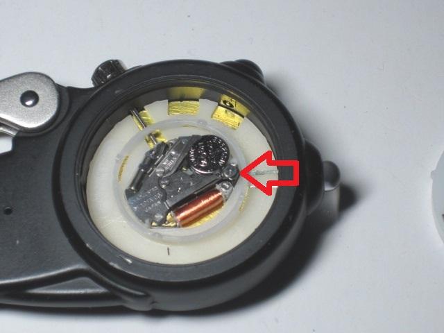 ダコタ時計の電池交換4