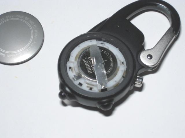 ダコタ時計の電池交換1