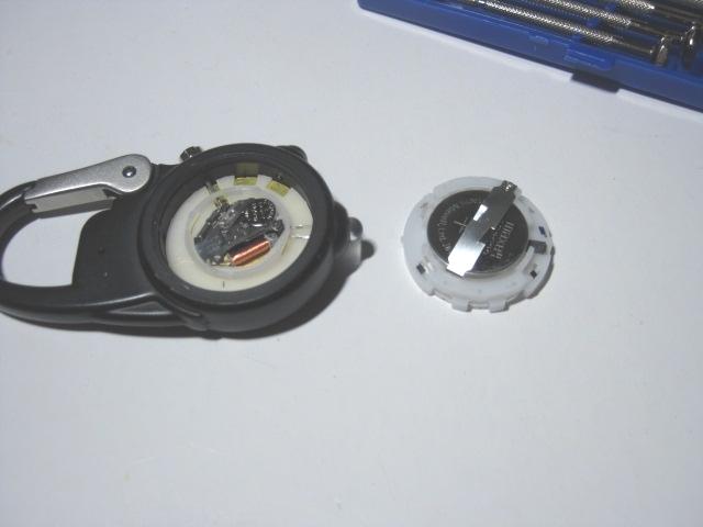 ダコタ時計の電池交換2
