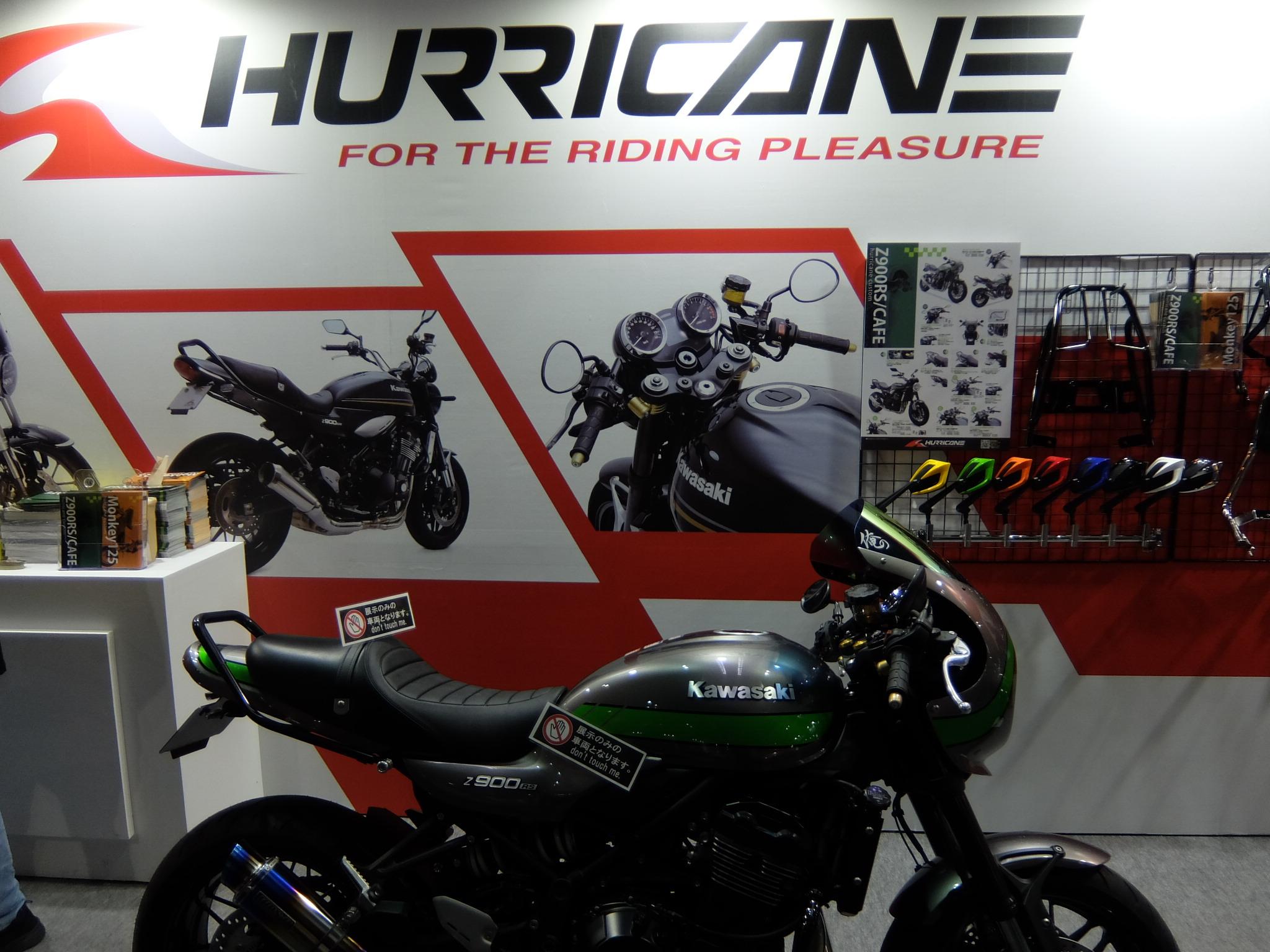 大阪モーターサイクルショー ハリケーンブース